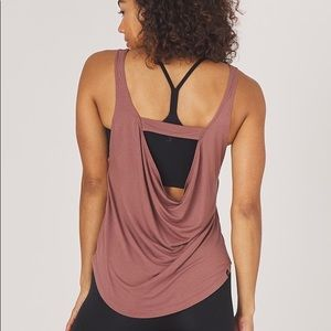 Glyder Charm Tank Top in Cocoa, Small